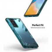 Ringke Fusion X Case - хибриден удароустойчив кейс за Huawei P40 Pro (син) 5