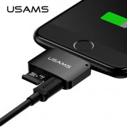 USAMS Adapter 2-in-1 microUSB & microSD to Lightning