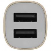 Incase Dual Car Charger - зарядно за кола с два USB изхода (златист) 3