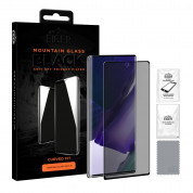 Eiger Mountain Glass Black Curved Anti-Spy Privacy Filter Tempered Glass for Samsung Galaxy Note 20