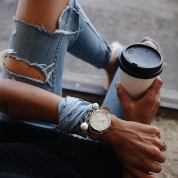 Fossil Hybrid Smartwatch Accomplice Sand Leather  4