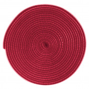Baseus Rainbow Circle Velcro Strap (300 cm) (red)