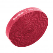 Baseus Rainbow Circle Velcro Strap (300 cm) (red) 1