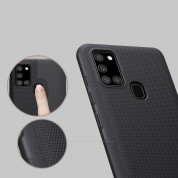 Nillkin Super Frosted Shield Case for Samsung Galaxy A21s (black) 5