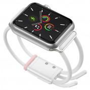 Baseus Lets Go Bracelet Clasp Band - текстилна каишка за Apple Watch 42мм, 44мм (бял) 3