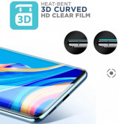 Premium Full Cover Curved Tempered Glass for Samsung Galaxy S20 Plus (black) 1