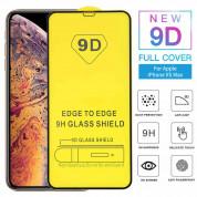 Premium Full Glue 9D Edge to Edge Tempered Glass for iPhone 11, iPhone XR (black) 1
