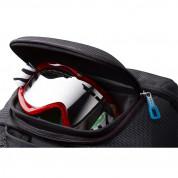 Thule Crossover Rolling Duffel 56L - водонепромокаема пътна чанта с алуминиева телескопична дръжка и колелца (син) 4