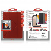 Torrii Torero Case and stand for iPad 7 (2019), iPad 8 (2020) (red) 1