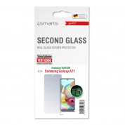 4smarts Second Glass Essential for Samsung Galaxy A71 (clear) 2