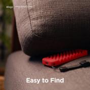 Elago R3 Protective Case - удароустойчив силиконов калъф за Apple TV Siri Remote (червен) 5