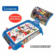 Lexibook Mario Kart Electronic Pinball with Lights And Sounds - детска пинбол със светлини и звуци (син) 4