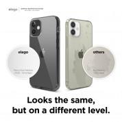 Elago Hybrid Case - хибриден удароустойчив кейс за iPhone 12 mini (черен) 5