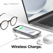 Elago Hybrid Case - хибриден удароустойчив кейс за iPhone 12 mini (тъмносин) 6