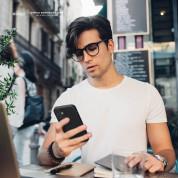 Elago Soft Silicone Case - силиконов (TPU) калъф за iPhone 12 mini (черен) 1