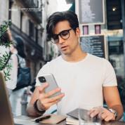 Elago Soft Silicone Case - силиконов (TPU) калъф за iPhone 12 mini (бял) 1