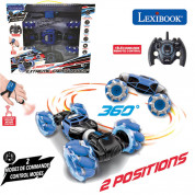 Lexibook RC50 Extreme Crosslander Rechargeable Radio Controlled Stunt Car 3
