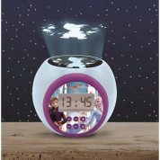 Lexibook Disney Frozen II Childrens Projector Clock with Timer - детски часовник с аларма (шарен) 3