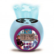 Lexibook Disney Frozen II Childrens Projector Clock with Timer - детски часовник с аларма (шарен)