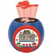 Lexibook Super Mario Childrens Projector Clock with Timer - детски часовник с аларма (шарен)