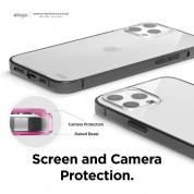 Elago Hybrid Case - хибриден удароустойчив кейс за iPhone 12 Pro Max (черен) 4