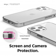 Elago Hybrid Case - хибриден удароустойчив кейс за iPhone 12 Pro Max (прозрачен) 4