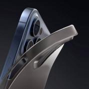 Baseus Wing case - тънък полипропиленов кейс (0.45 mm) за iPhone 12 Pro Max (бял) 2