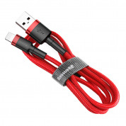 Baseus Cafule USB Lightning Cable (CALKLF-C09) for Apple devices with Lightning connector (200 cm) (red)