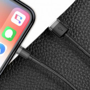 Baseus Cafule USB Lightning Cable (CALKLF-BG1) for Apple devices with Lightning connector (100 cm) (black-gray) 5