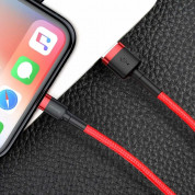 Baseus Cafule USB Lightning Cable (CALKLF-R09) for Apple devices with Lightning connector (300 cm) (red) 6