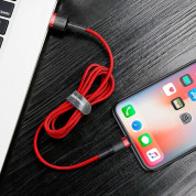 Baseus Cafule USB Lightning Cable (CALKLF-R09) for Apple devices with Lightning connector (300 cm) (red) 7
