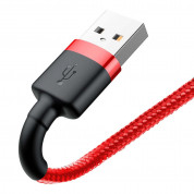Baseus Cafule USB Lightning Cable (CALKLF-R09) for Apple devices with Lightning connector (300 cm) (red) 3