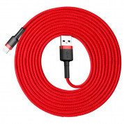 Baseus Cafule USB Lightning Cable (CALKLF-R09) for Apple devices with Lightning connector (300 cm) (red) 1