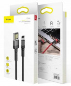 Baseus Cafule USB Lightning Cable (Special Edition) (CALKLF-GG1) for Apple devices with Lightning connector (black-gray) 3