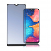4smarts Second Glass Curved 3D  for Samsung Galaxy A30, Galaxy A50 (black-clear)