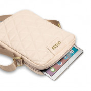 Guess Quilted Tablet Bag 10 (rose gold) 3