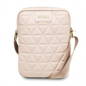 Guess Quilted Tablet Bag 10 (rose gold)
