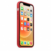 Apple iPhone 12/12 Pro Silicone Case with MagSafe (PRODUCT)RED 4