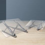 Portable Folding Aluminum Laptop Stand L - преносима сгъваема поставка за MacBook и лаптопи от 14 до 17.3 инча (тъмносив) 2