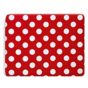Pat Says Now Pouch Red Polka Dot  - неопренов калъф за iPad 3 (новият iPad), iPad 2 1