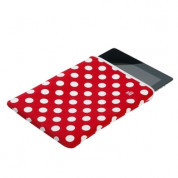 Pat Says Now Pouch Red Polka Dot  - неопренов калъф за iPad 3 (новият iPad), iPad 2 2