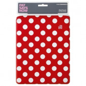 Pat Says Now Pouch Red Polka Dot  - неопренов калъф за iPad 3 (новият iPad), iPad 2 3