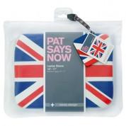 Pat Says Now UK Laptop Sleeve - неопренов калъф за MacBook Air 11 и лаптопи до 11 инча 3