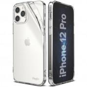 Ringke Air Case - силиконов (TPU) калъф за iPhone 12, iPhone 12 Pro (прозрачен)