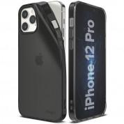 Ringke Air Case - силиконов (TPU) калъф за iPhone 12, iPhone 12 Pro (черен)