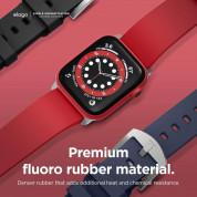 Elago Watch Sport Fluoro Rubber Strap for Apple Watch 38mm, 40mm (red) 5