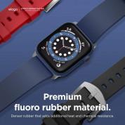 Elago Watch Sport Fluoro Rubber Strap for Apple Watch 42mm, 44mm (jean indigo) 5