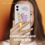 Elago Smartphone Strap with stickers - каишка със стикери против изпускане на вашия смартфон (розов-жълт) 2