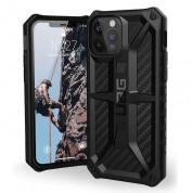 Urban Armor Gear Monarch Case - удароустойчив хибриден кейс за iPhone 12, iPhone 12 Pro (черен-карбон) 4