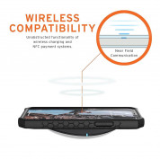 Urban Armor Gear Monarch Case - удароустойчив хибриден кейс за iPhone 12, iPhone 12 Pro (черен-карбон) 5